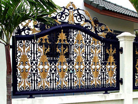Boundary Wall Designs With Gate « Search Results « Landscaping ...
